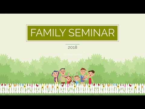 The Deep Needs of Man   Sr. Ps. Vijay Nadar   Family Seminar 2018