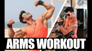Sahil Khan's Arms Workout