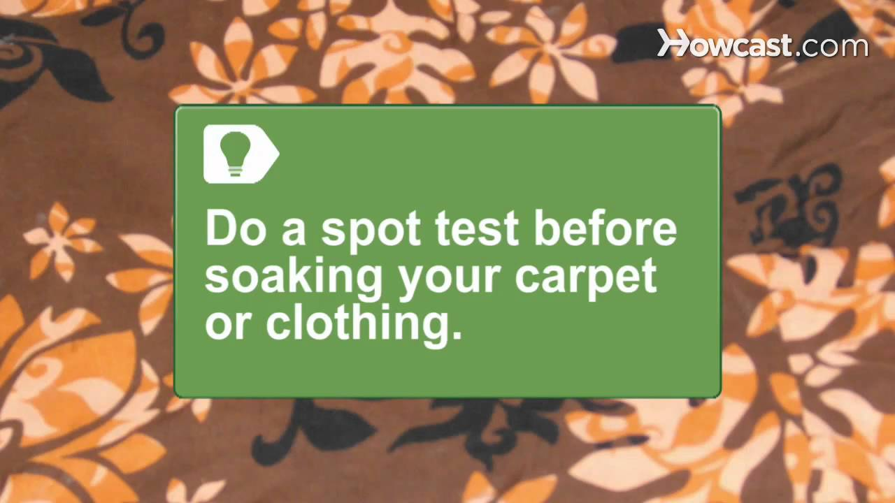 How To Get Rust Out Of Carpet Clothing You