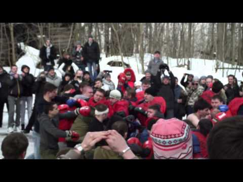 Shrovetide pugilism, russian fist fighting. Кулачные бои на Масленицу