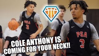 Cole Anthony is COMING FOR YOUR NECK!! | #1 Point Guard DOMINATES the NIKE EYBL