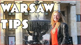 Warsaw Poland: Travel Tips for Tourists 2017