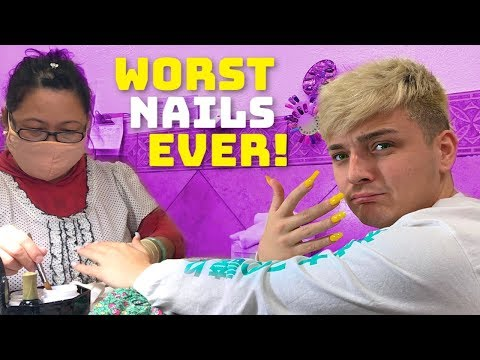 Going To The Worst Reviewed Nail Salon In My City! (1 STAR)
