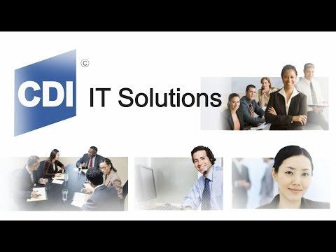 CDI IT Solutions Service Desk Video