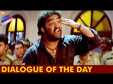 NTR Emotional Court Scene Dialogue | Dialogue Of The Day | Rakhi Telugu Movie | Telugu Filmnagar