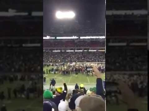 Notre Dame vs LSU 2014 Music City Bowl Game Winning Kick
