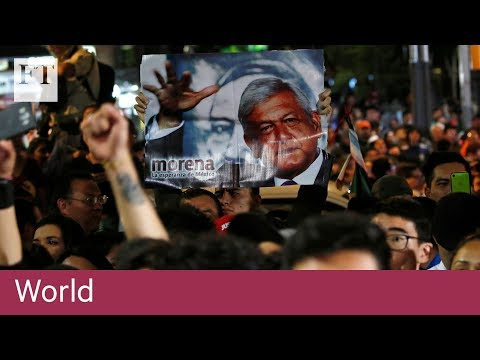 Mexico celebrates as López Obrador wins presidency