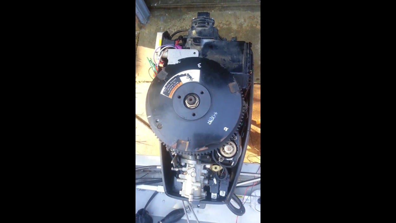Double Fire On 70 Hp Force Outboard Motor