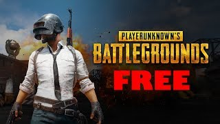 HOW TO GET PLAYERUKNOWN'S BATTLEGROUNDS FREE!!!!!