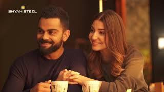 Mr & Mrs flexiSTRONG | Behind The Scenes | Shyam Steel | Virat Kohli | Anushka Sharma | Virushka