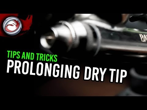 Airbrushing Tips: Prolonging Dry Tip from YouTube · Duration:  2 minutes 47 seconds