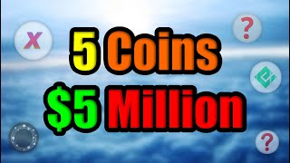 5 Coins to $5 Million | Top Low Cap Altcoins w/ MASSIVE GROWTH Potential in September