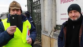 Protest la Parlament blocat cu cel mai absurd motiv. Jandarmeria explică imposibilul