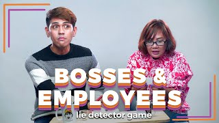 Bosses and Employees Play A Lie Detector Drinking Game | Filipino | Rec•Create