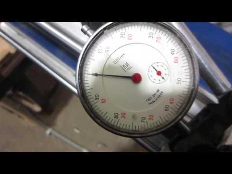 Тест точности чпу, ременная передача