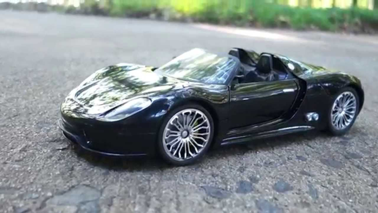Holy Stone 1 14 Scale Porsche 918 Spyder Rc Car Review Youtube