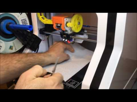 Cleaning My 3D Printer Extruder Head