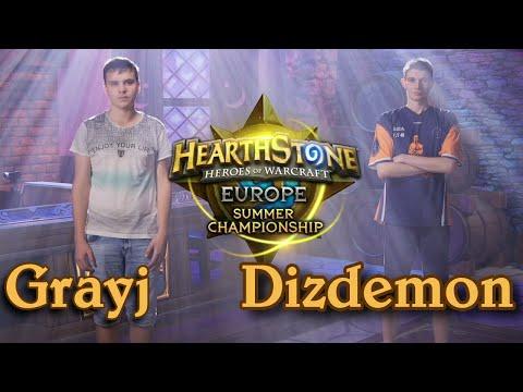 Grayj vs Dizdemon - HCT 2016 Europe Summer Championship: Quarterfinal