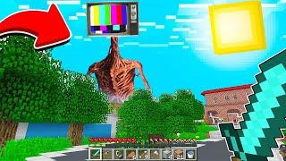 TELEVİZYON KAFA ŞEHRİMİZE GELDİ! 😱 - Minecraft