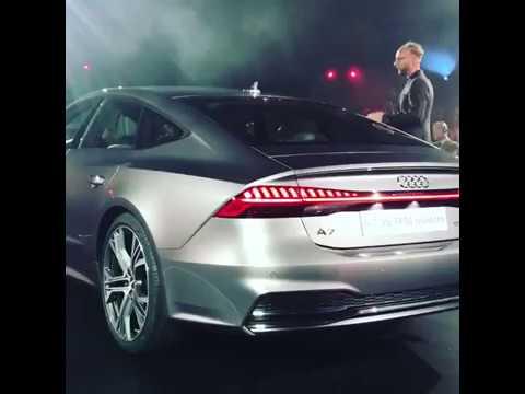 Audi Power New Audi A7 Sportback 2018 World Premiere United