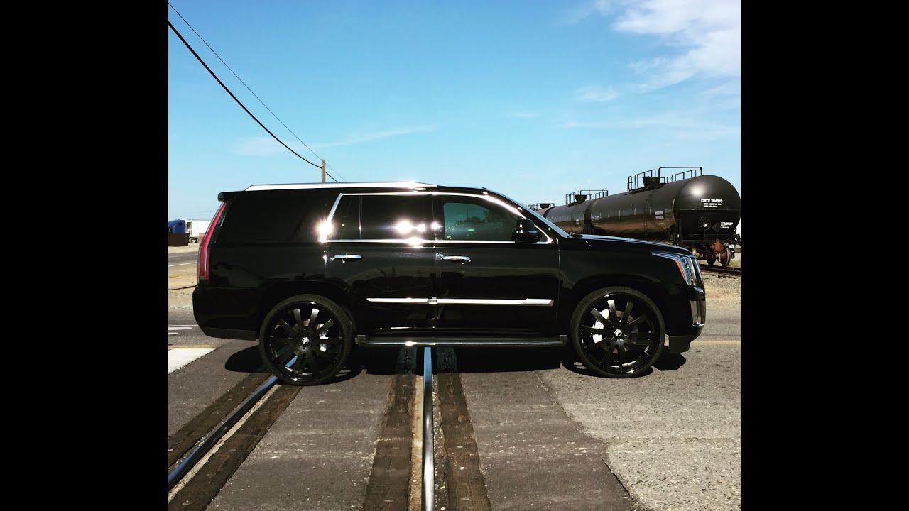 2015 Cadillac Escalade Choppin' Forgiato 3 Piece 28 ...