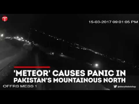 Meteor Crashes in Pakistan [Latest News*]
