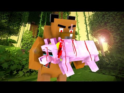 Wolf Life 4 - Craftronix Minecraft Animation - Видео из Майнкрафт (Minecraft)