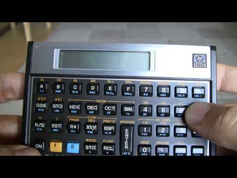 HP 16C Computer Engineering Calculator 2538A