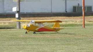 Burt's 1/3 Scale Rc Aeronca Champ Airplane Maiden Flt