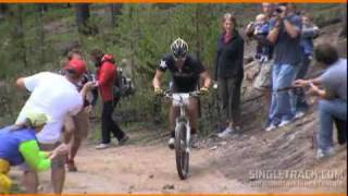Lance Armstrong Wins the 2009 Leadville 100 Mountain Bike Race
