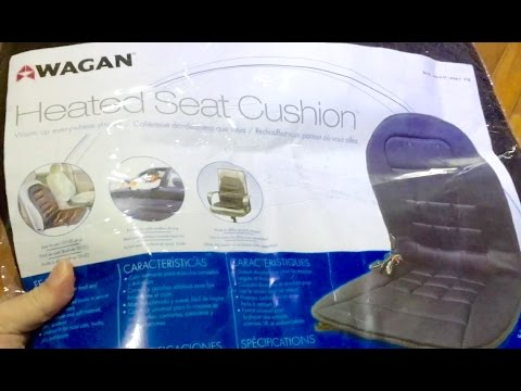 Wagan IN9738 Black 12V Heated Seat Cushion review