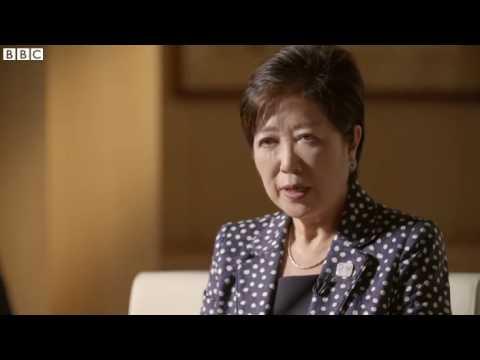 Tokyo governor Yuriko Koike:, 'I was elected because I was a woman'