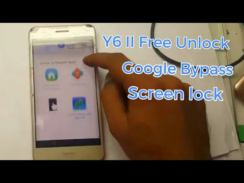Y6 II Huawei  Cam-l21 Frp Google Bypass unlock  forget Gmail