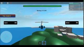 Roblox | Airtran 717 flight
