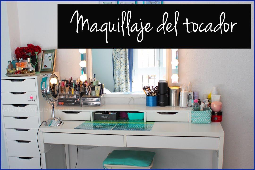 Tocador colecci n de maquillaje monica vizuete youtube - Mesa tocador ikea ...