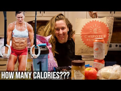World's Fittest Woman- FULL DAY OF EATING