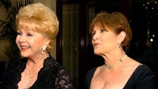 Debbie Reynolds and Carrie Fisher honored at memorial service