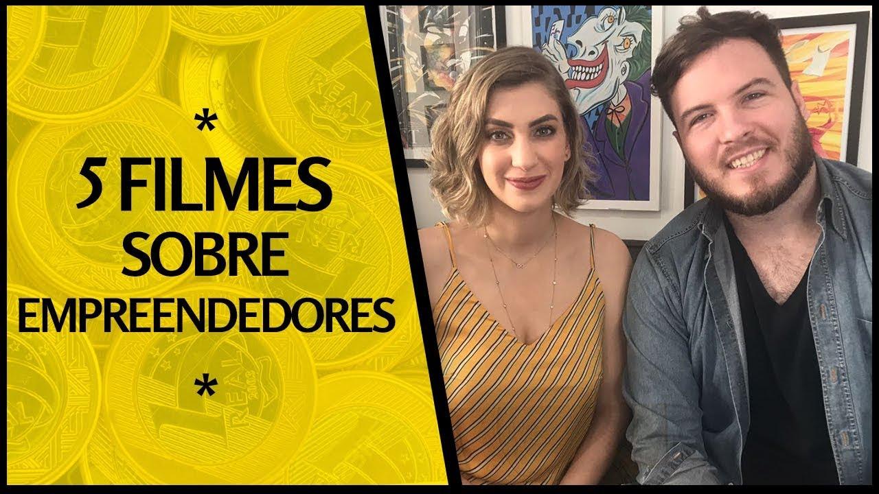 ???? Os 5 MELHORES FILMES sobre EMPREENDEDORISMO | c/ Carol Moreira
