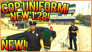 GTA 5 ONLINE: How To Get Cop Uniform In GTA 5 Online 1.29/1.30 [Fast & Easy!] (GTA 5 Be A Cop 1.30!)