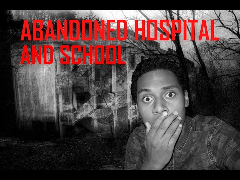 EXPLORING THE ABANDONED HOSPITAL AND SCHOOL! (WARNING)- WHAT'S IN ROOM 187?!