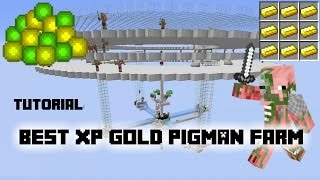 Tutorial: Best AFK XP Gold Pigman Farm on Youtube! 1.11/10/9/8
