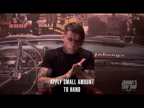 STEPHEN JAMES  whoiselijah  Slick Back Wet Look Haircut & Hairstyle at Johnny's Chop Shop
