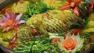 Cách làm món Cá Chép Om Dưa và loại rau đặc biệt ăn kèm không thể thiếu ít người biết