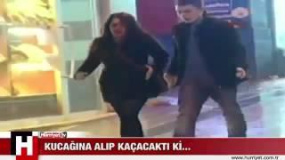 Sevgiliyi Kucağa Almak Taksimde polis müdahalesi sırasında yaşanan ilginç olay