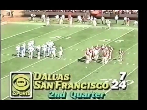 Dallas Cowboys vs San Francisco 49ers 1981