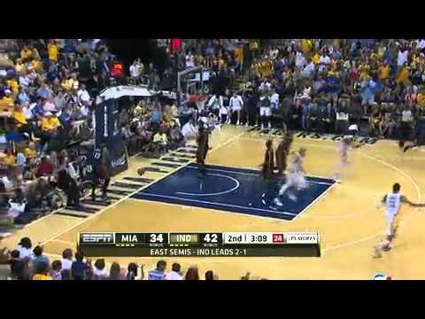 Heat vs. Pacers 2012