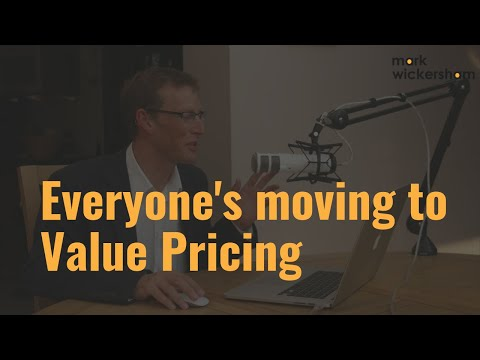 Why are so many accounting and bookkeeping firms moving to value pricing?