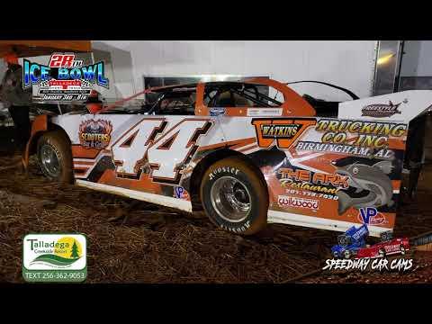 #44 Jarrad Gray - 602 Sportsman - 1-6-19 Talladega Short Track - In Car Camera
