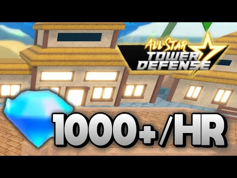 HOW TO GET GEMS *FAST* IN ALL STAR TOWER DEFENSE (1000+/HR) | (Roblox)
