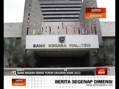 Refleksi 2013: Bank negara semak turun unjuran KDNK 2013